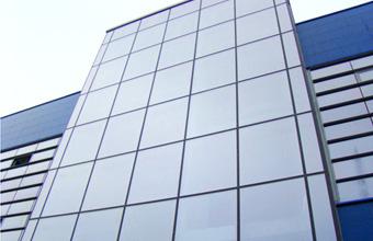 Aluminium clading